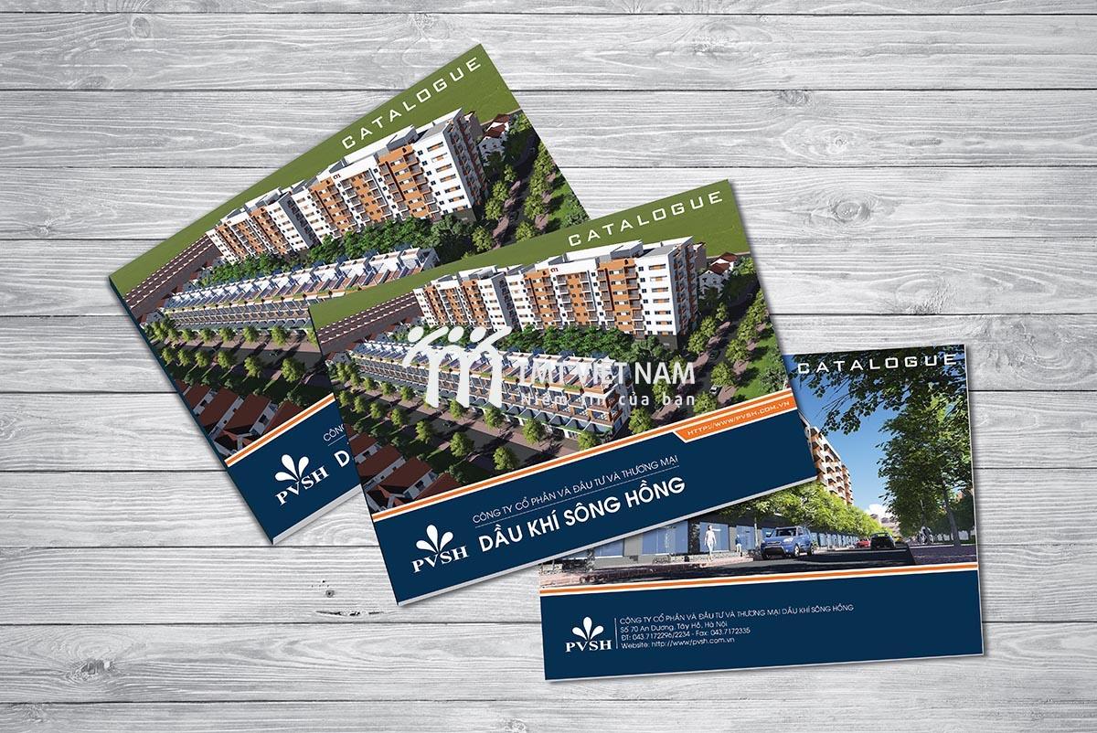 Catalogue công ty xây dựng Dầu khí Sông Hồng