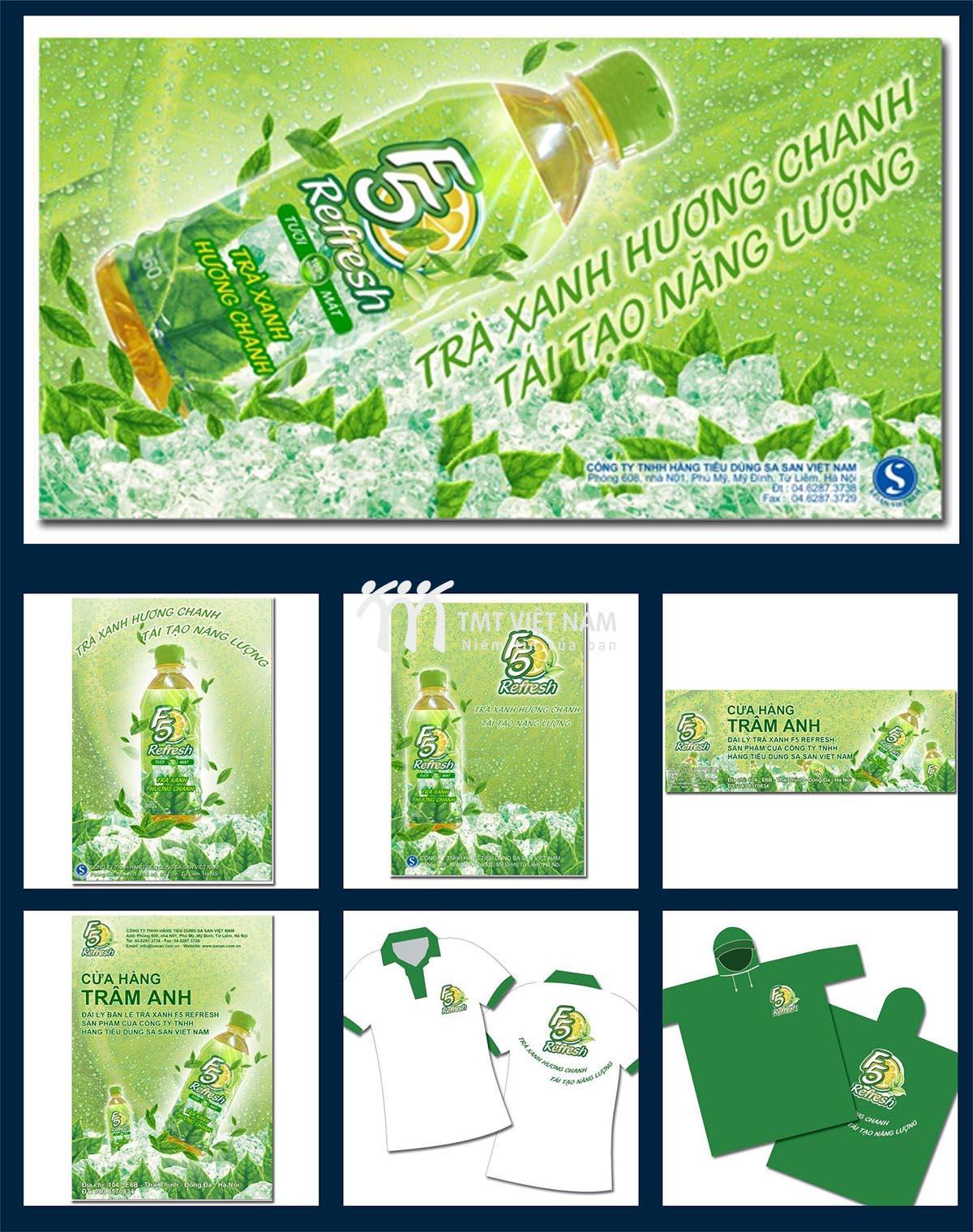 Ấn phẩm quảng cáo F5 Refresh