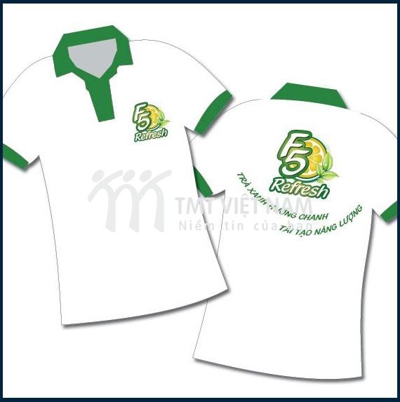 Đồng phục màu trắng F5 Refresh