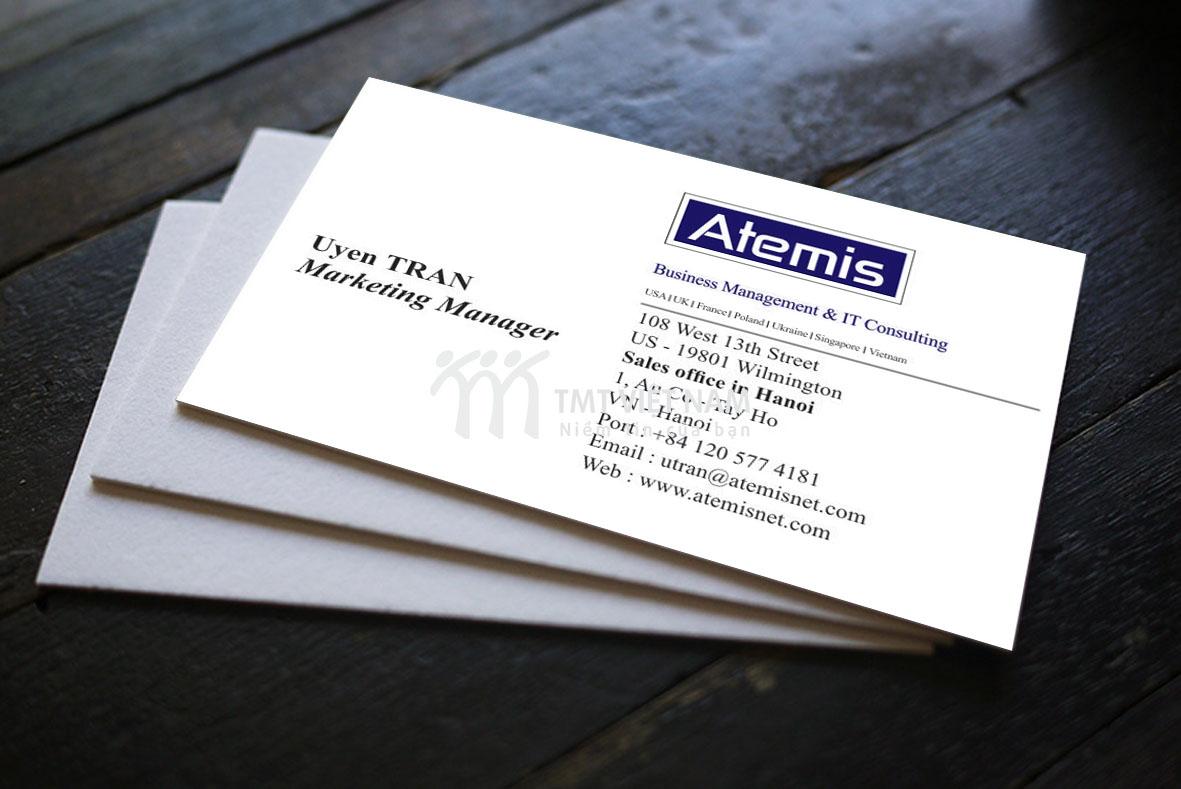 Danh thiếp Atemis