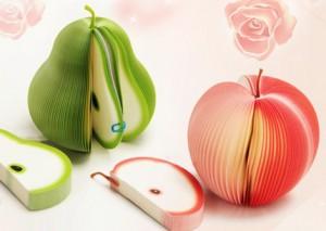 Giấy ghi chú, giấy note hình trái cây