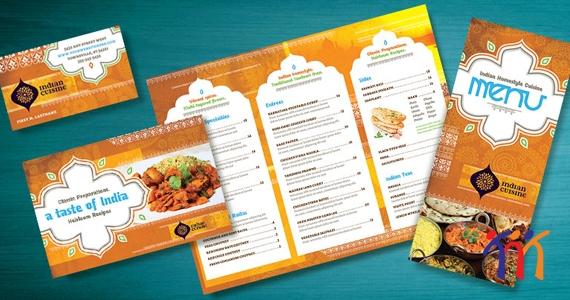 In nhanh menu thực đơn nhà hàng