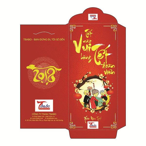 Thiết kế và in bao lì xì độc quyền 2018 tại TMT Việt Nam