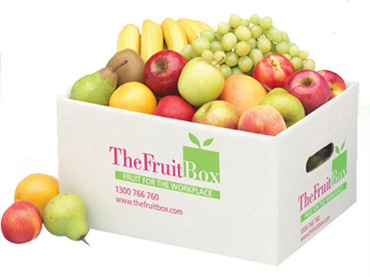 in thùng carton đựng hoa quả