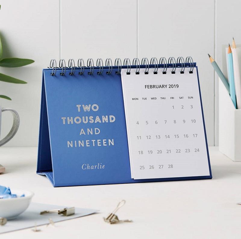 Nơi in và thiết kế lịch tết 2019 sáng tạo, độc đáo, giá rẻ