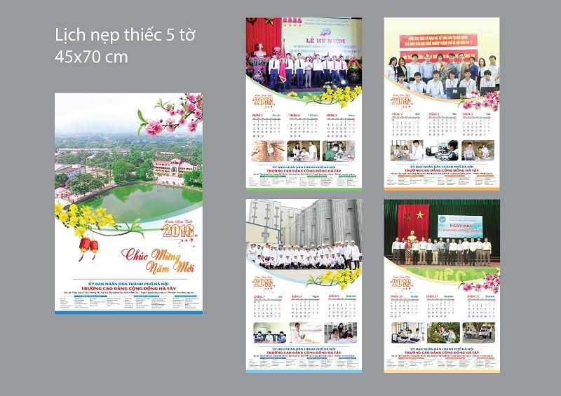 Công ty in lịch tết tại Hà Nội uy tín nhất hiện nay