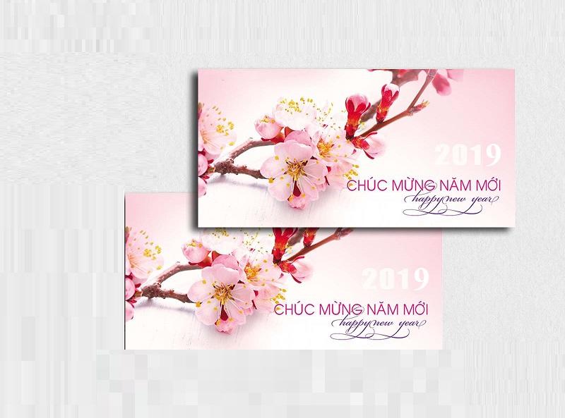 Nhận in thiệp chúc tết, mẫu thiệp chúc tết 2019 đẹp mới nhất