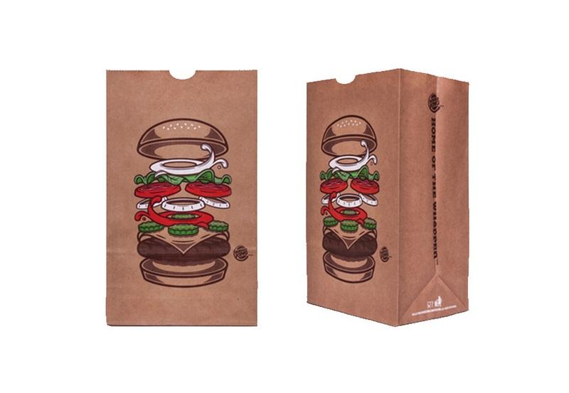 Nơi in túi giấy đựng thực phẩm đẹp, chất lượng
