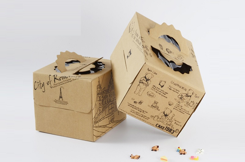 In hộp giấy đựng thức ăn nhanh đẹp mang tính sáng tạo