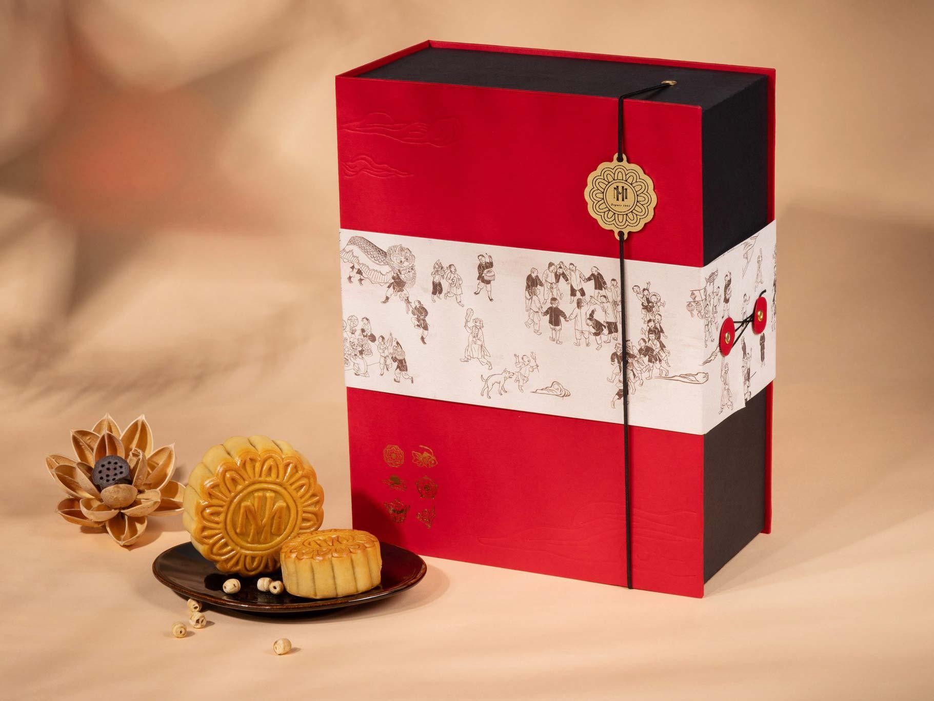 mẫu hộp bánh trung thu số 7