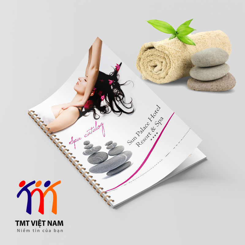 Catalogue dịch vụ spa