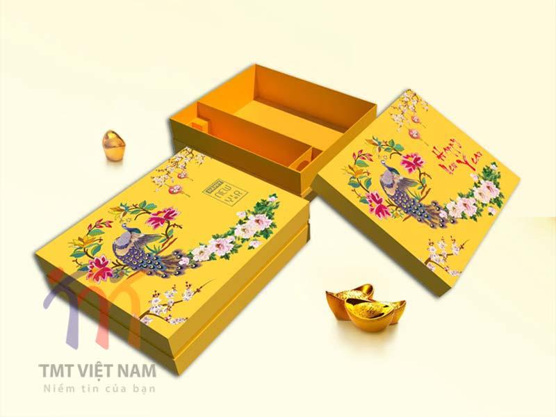 hộp đựng quà tết mẫu 4
