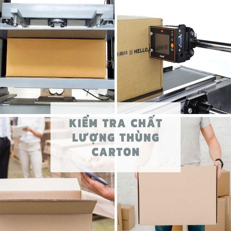 một số tiêu chí kiểm tra chất lượng in thùng carton
