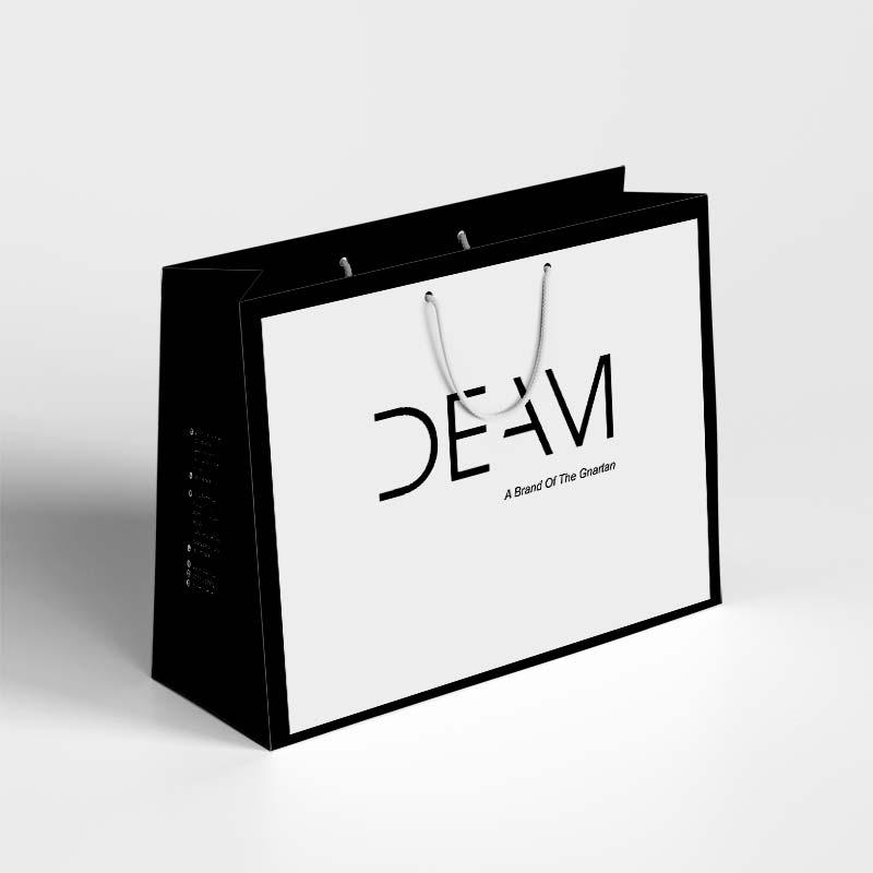 Túi giấy đựng mỹ phẩm đơn giản