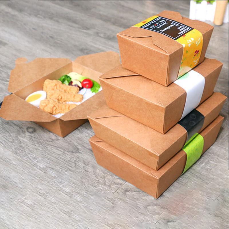 in hộp giấy đựng thực phẩm chất lượng