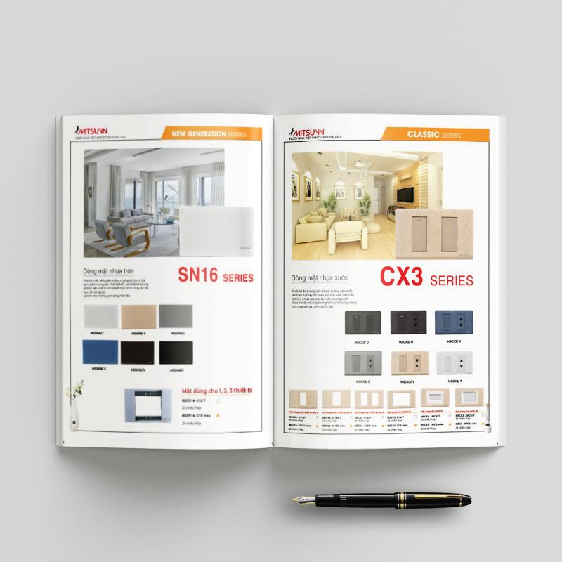Catalogue khổ A4