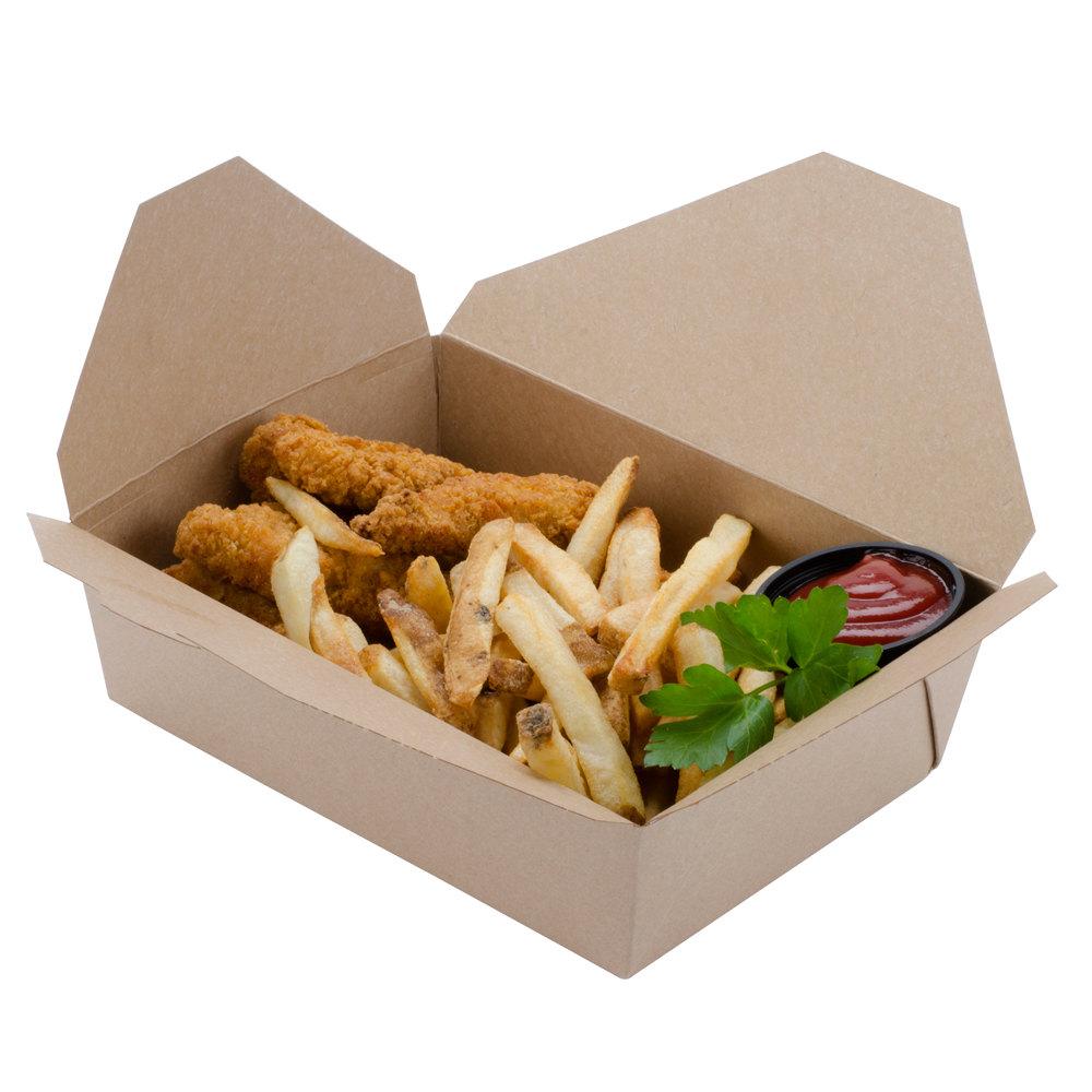 mẫu hộp giấy đựng thức ăn nhanh giá rẻ