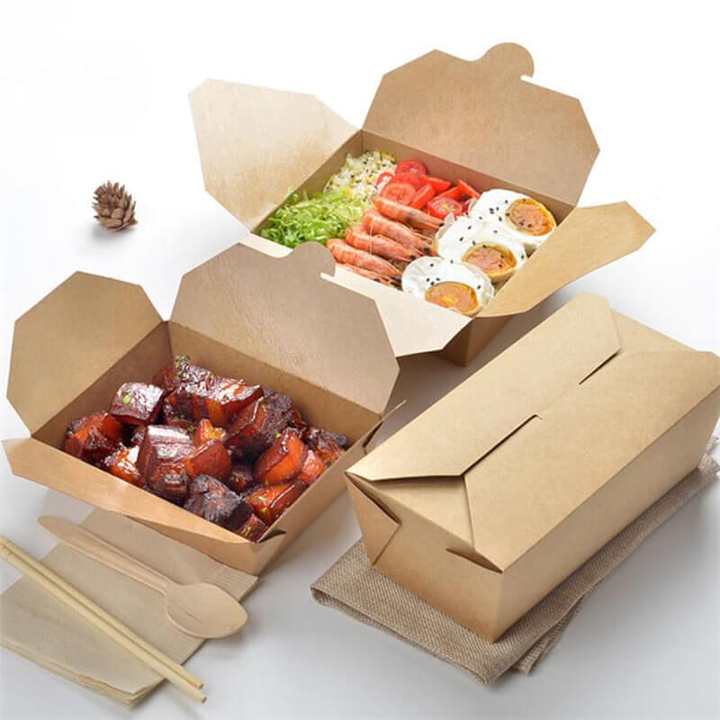 dịch vụ in hộp giấy đựng thức ăn nhanh an toàn hợp vệ sinh