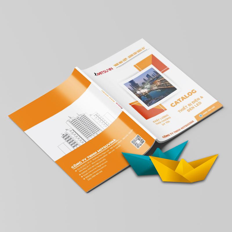 Mẫu Catalogue thiết bị điện
