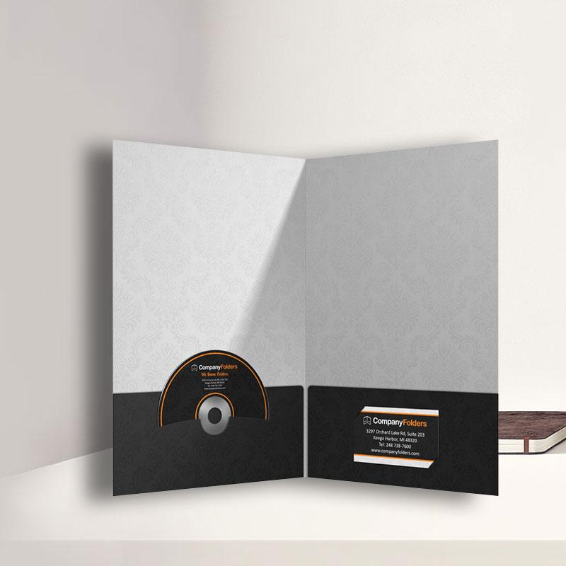 mẫu kẹp tài liệu có tai đựng cardvisit