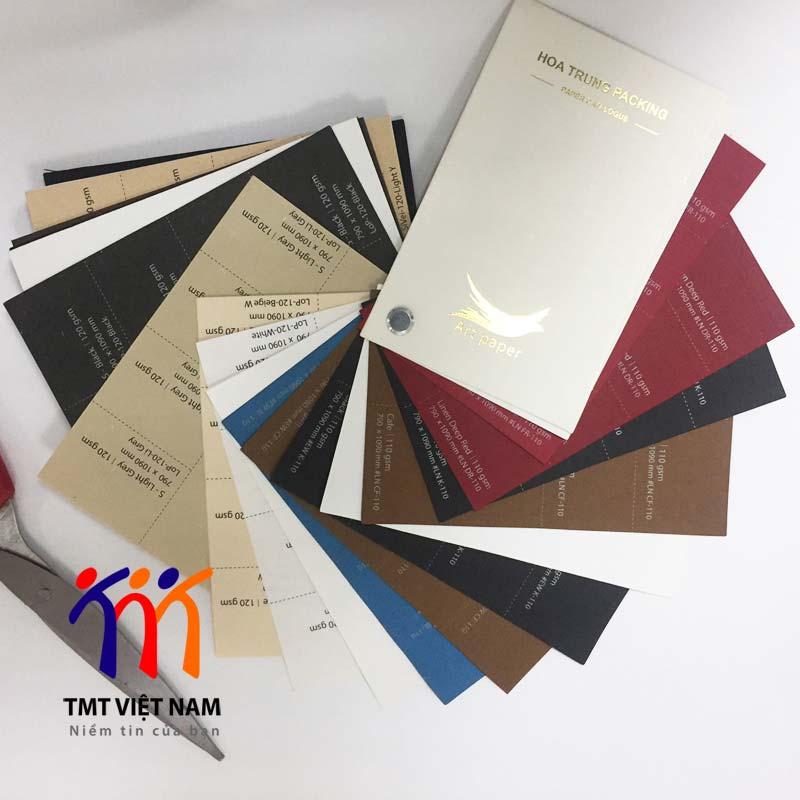 chất liệu giấy mỹ thuật