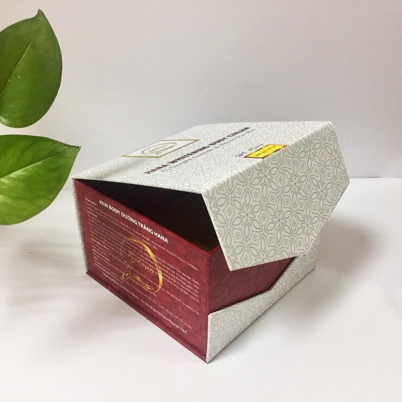 hộp đựng kem body chất liệu carton lạnh