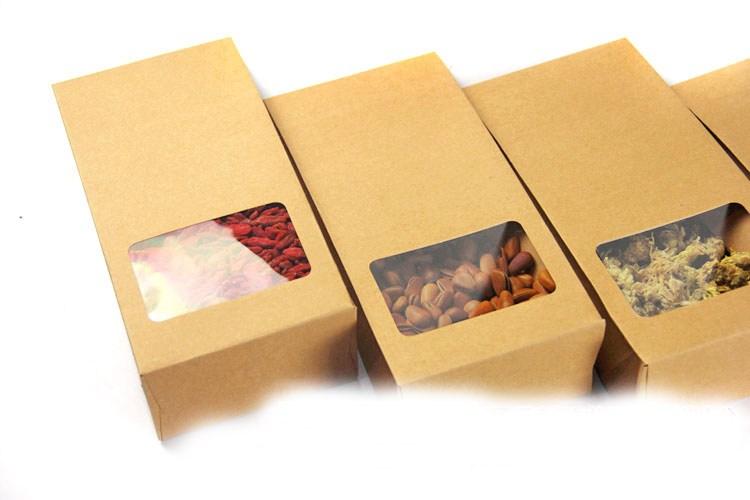 in hộp giấy kraft đựng thực phẩm