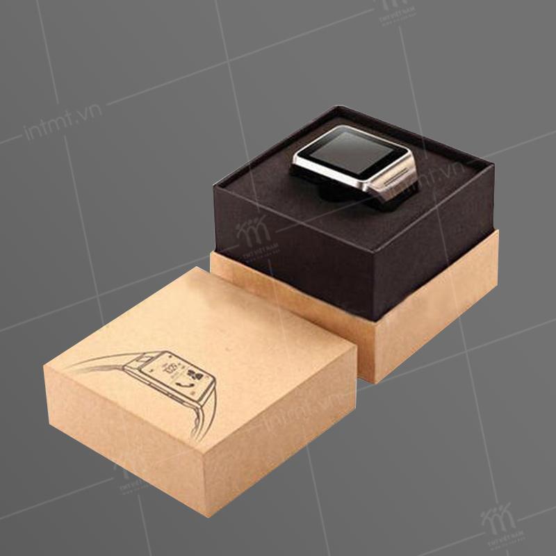 Thiết kế hộp nắm rời có thành