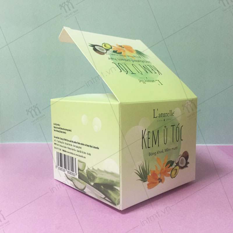 Hộp giấy đựng kem ủ tóc