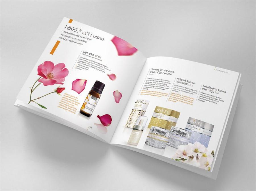 Catalogue mỹ phẩm đẹp ấn tượng