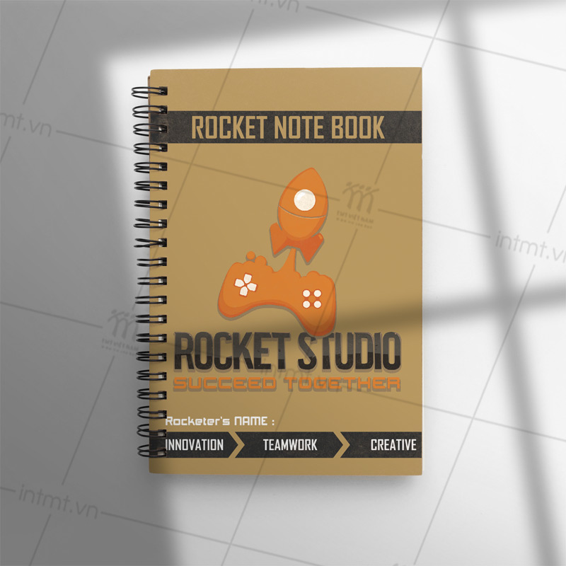 sổ tay studio rocket