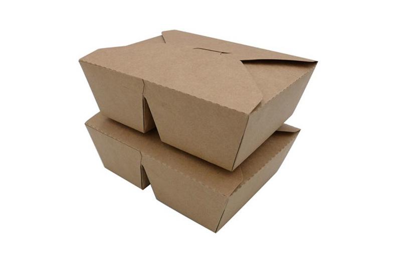mẫu hộp giấy đựng thức ăn nhanh giấy kraft