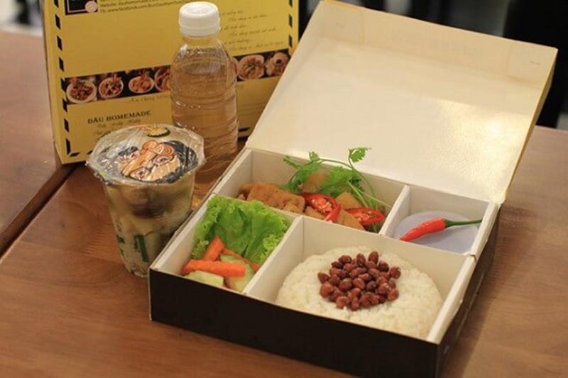 Mẫu hộp giấy đựng thức ăn nhanh đẹp tại hà nội