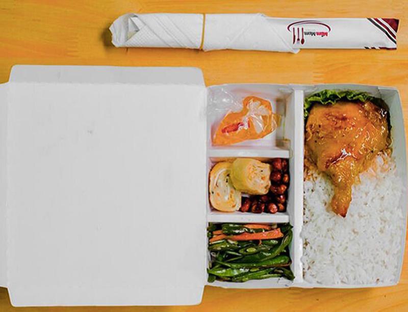 Mẫu hộp giấy đựng thức ăn nhanh đẹp chất lượng