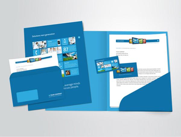 mẫu bìa đựng hồ sơ cho doanh nghiệp