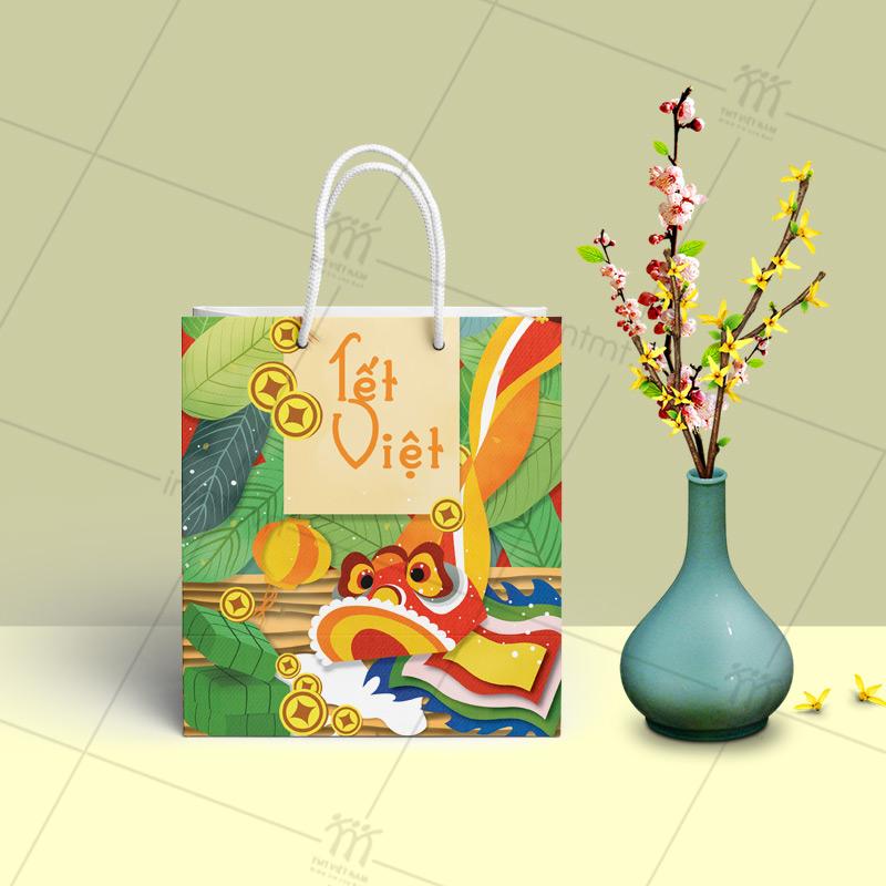 Túi giấy quà tết có sẵn đẹp